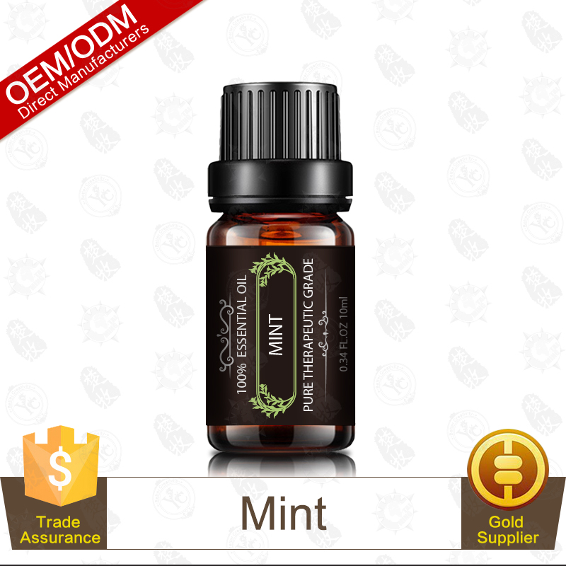Oil Control Acne Removing Pure Mint Essential Oil