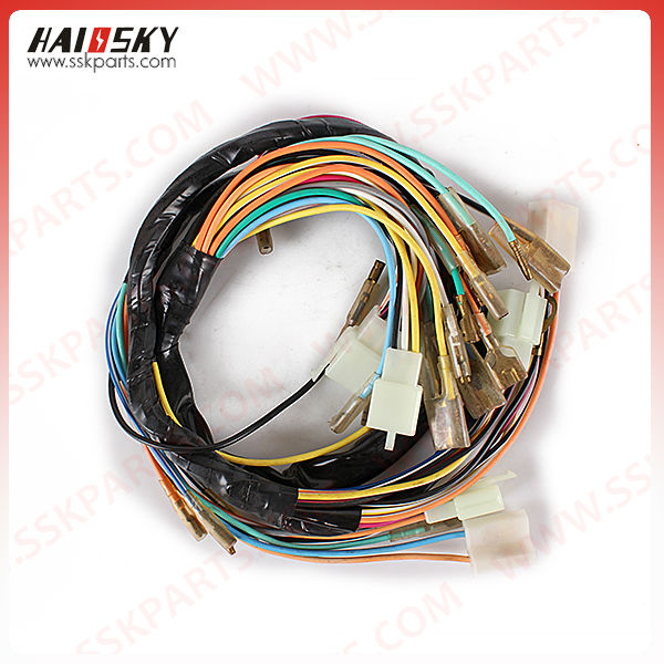 HAISSKY low price motorcycle wiring harness protector gs125 wiring harness, gs125 wiring harness suppliers and low cost wire harness testers at bayanpartner.co