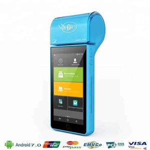 "Guangzhou Bimi 5"" Touch Screen 4G 3G WiFi Android System handheld POS"