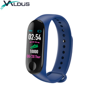 Heart rate monitor pedometer fitness tracker cheap m3 smart watch band bracelet