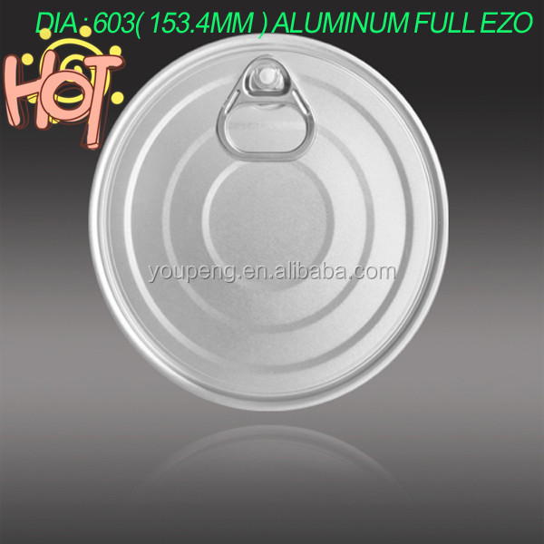 Sell 603 ( 153MM) pack Oil Aluminum easy open cap