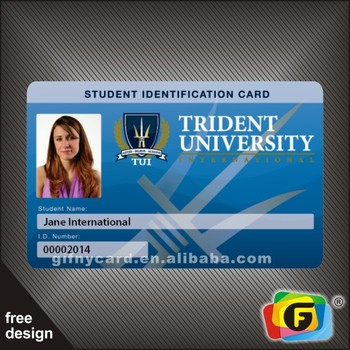 Free Design Fashional Company Id Card