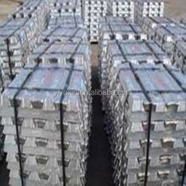 Aluminium ingot 99.7% many purities's supply