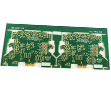 Heavy copper layer 2 oz 0.1mm immersion gold board pcb