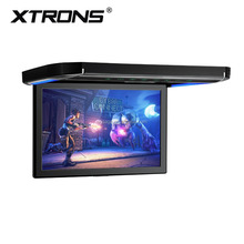 "Xtrons 12.1"" 1080P Video big Screen flip down monitor , audio cassette player, car radio cassette player"