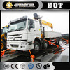 Cheap price XCMG truck mounted crane, 3 Ton Mini Truck-mounted crane with telescopic boom