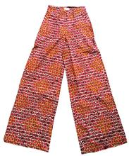 African Fashion Wide Leg <strong>Pant</strong> <strong>Women's</strong> Wax Print <strong>Pants</strong> With Side Pockets