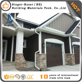 China Supplier Roof Water Insulation Materials PVC Rain Gutters For Roofing  Accessories Gutter Downspout Diverter
