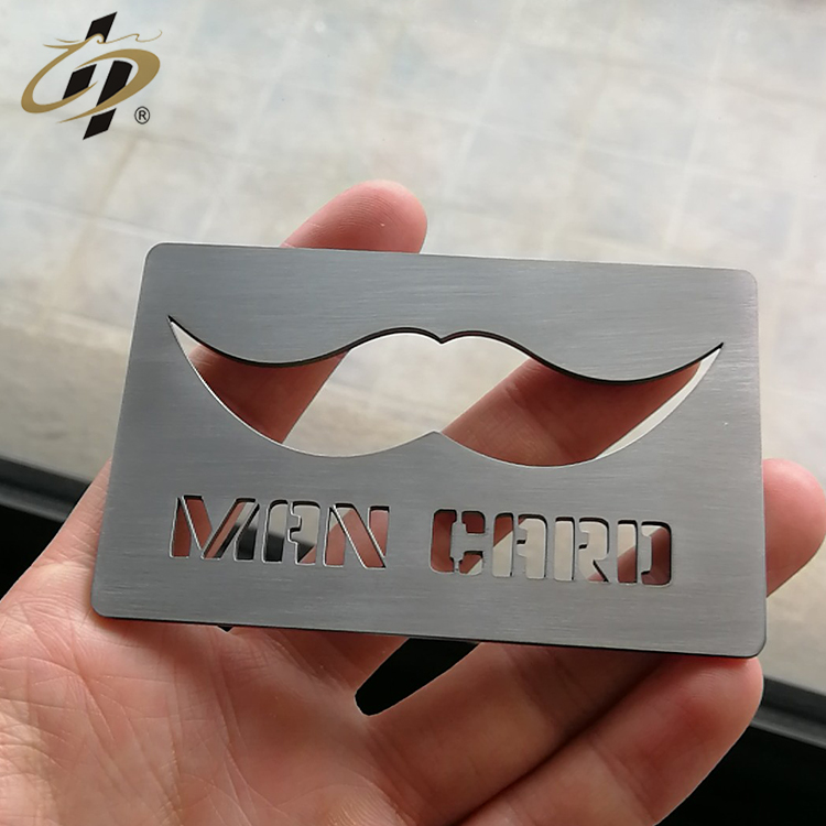 Wholesale custom stainless steel cut out metal bottle openers