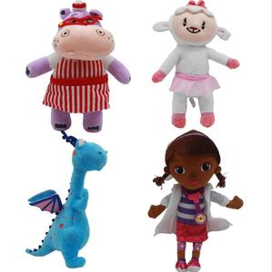 (Hot) Doc McStuffins Plush Doll, Cartoon Stuffing Animal Plush, Dottie McStuffins character soft stuffed plush toy