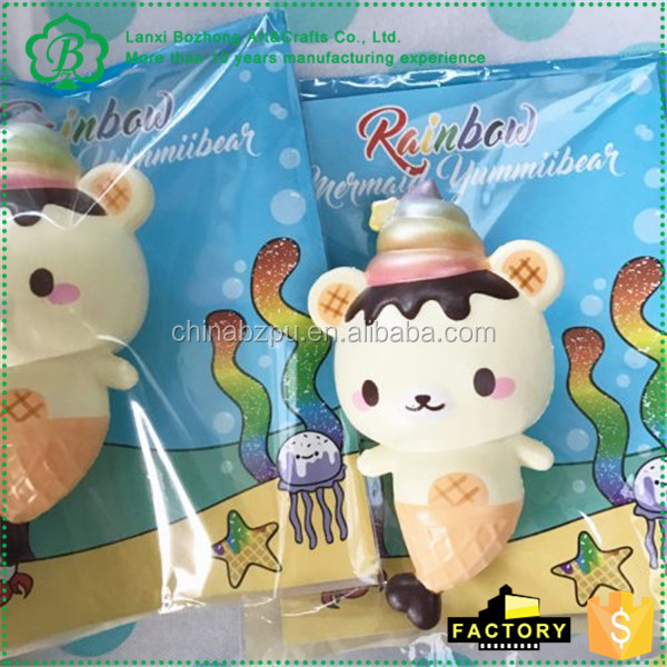 Squishy En Espanol : Japon kawaii squishies, suave lento aumento blandita, Rian arco Yummiibear juguetes blandos ...