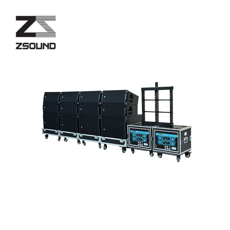 "Professional double 10"" top pro audio line array speaker/sound system in Guangzhou China"