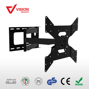Adjustable folding arm LCD 32~65 inch TV Corner Mount VM-L28-400 B-02