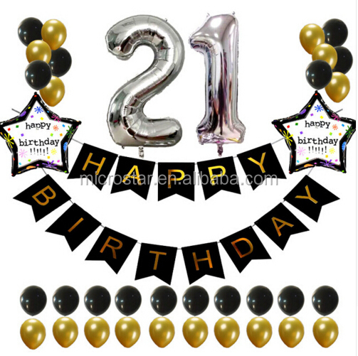 A-0298 Hot Amazon Party Favor 1st 16th 20th 30th 40th 50th 60th birthday stage decorations