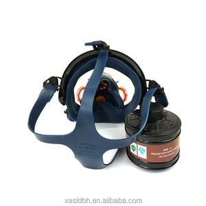 Full Gas Mask for Single Cartridges Volcanic Gas Mask Respirator