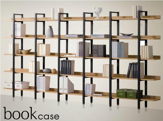 pas cher fer tag re en bois biblioth que tag res d. Black Bedroom Furniture Sets. Home Design Ideas