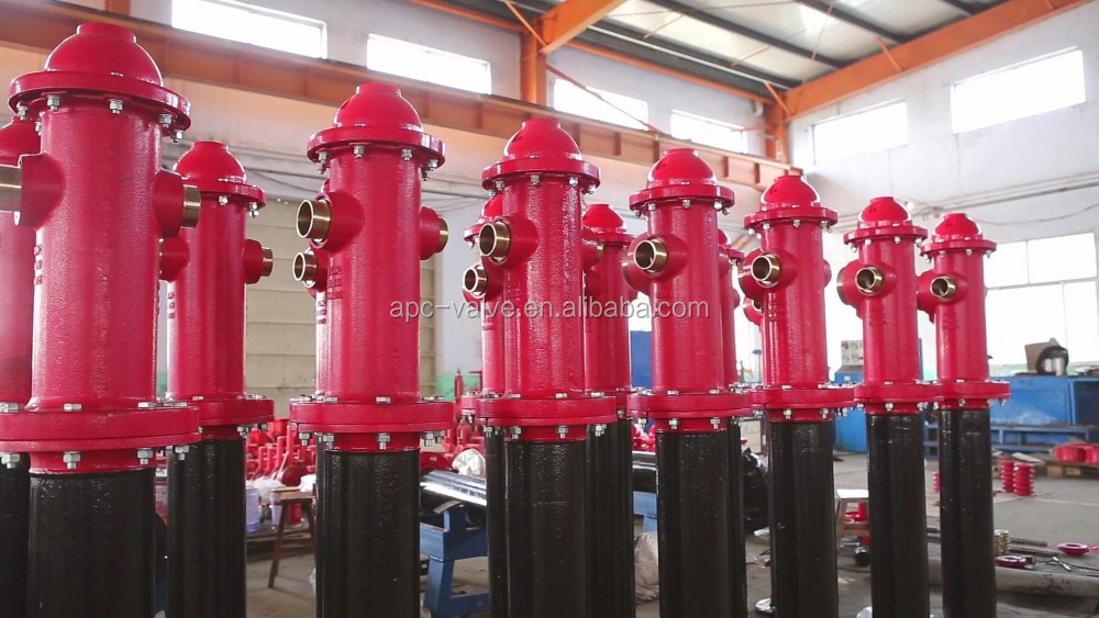 Durable FM Approved outdoor fire hydrant Underground Dry Barrel Fire Hydrant with Competitive Price