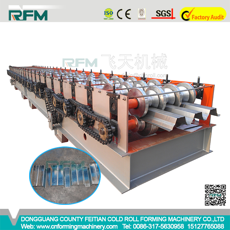Durable Quality Bending Machinery Floor Deck Steel Profile Roll Forming Machine