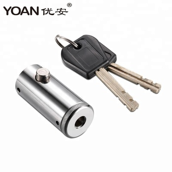 High security vending machine plug lock with stainless steel lock for automatic washing machine