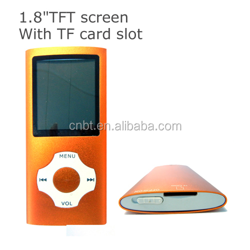 "Fashion and Hot sale 1.8"" TFT Touch Screen Mp4 Player Mp4 Mobile Movies Download"
