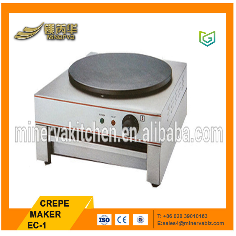 Automatic pancake maker machine stainless steel mini crepe maker electric with low price