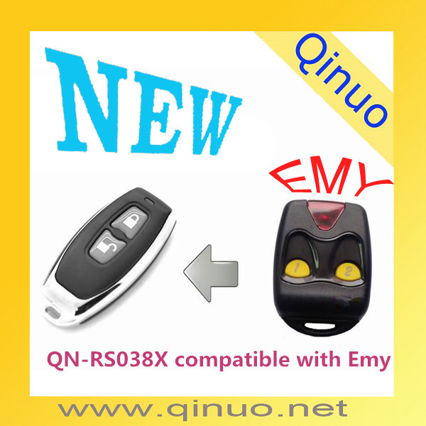 Qinuo New Pilot Rolling Code Remote Control Transmitter QN-RS038X compatible with Emy for garage door opener