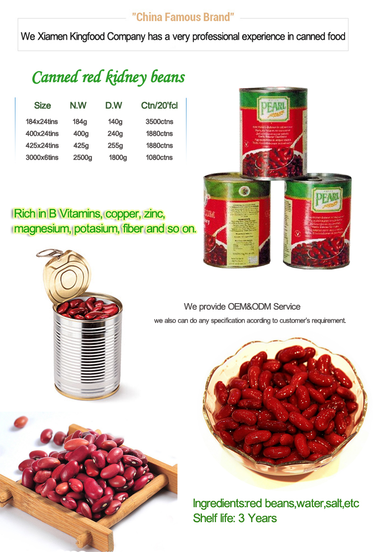Tasty And High Quality Canned Red Kidney Bean