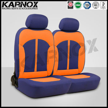 Bus Seats For Salecar Interior Accessoriesblue And Orange Fabric Show