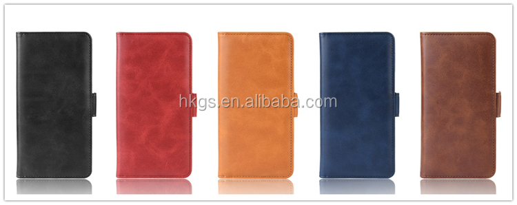 Para Realme 7I elegante Caballo Loco cuero cartera Flip funda protectora para Realme C17