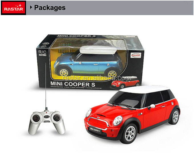 HOT sale RASTAR licensed Mini cooper electric car toy RC toy