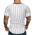 Professional design short sleeve comfortable fashion mens striped tshirt