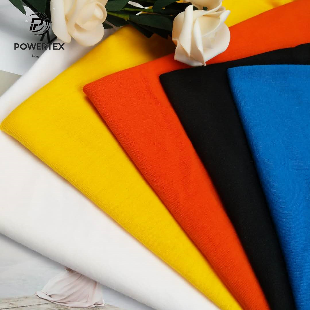 100% Lenzing Modal Knitted Fabric for High Quality Branded T Shirt