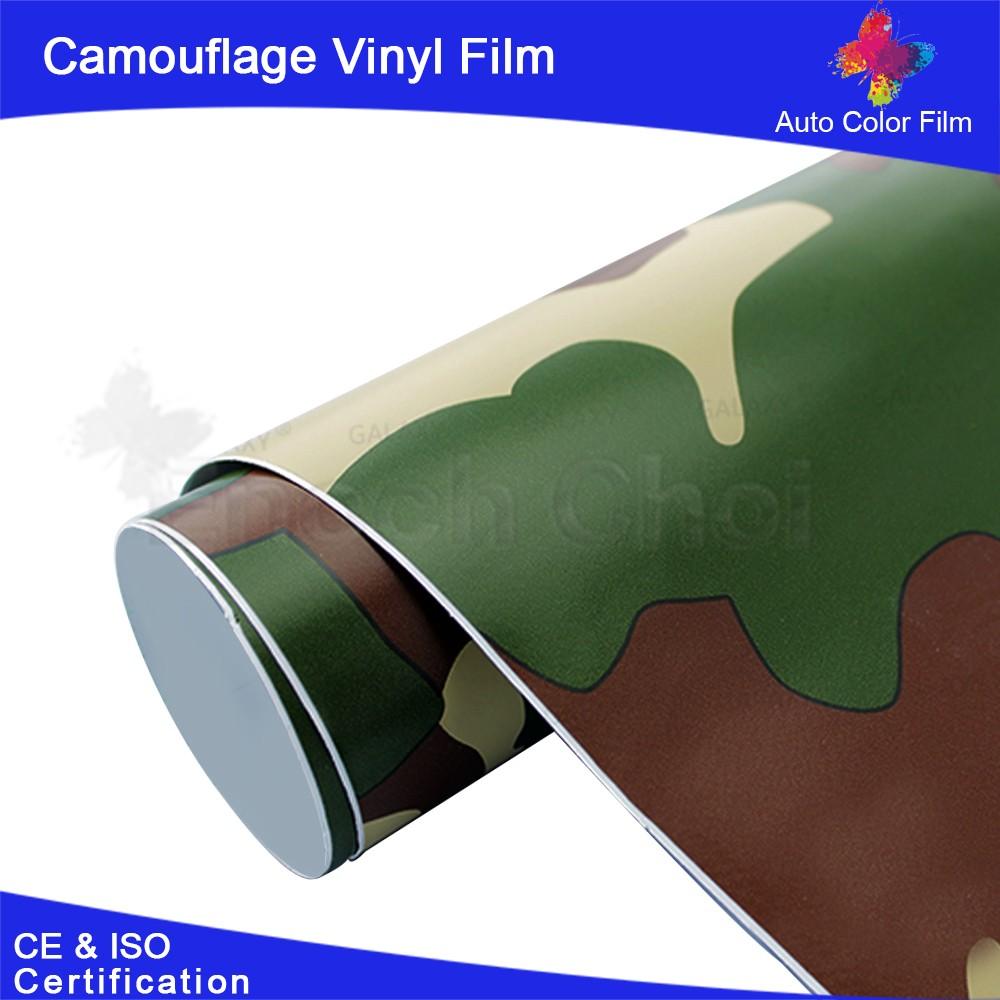 En plastique rev tement mural camouflage Revetement mural autocollant