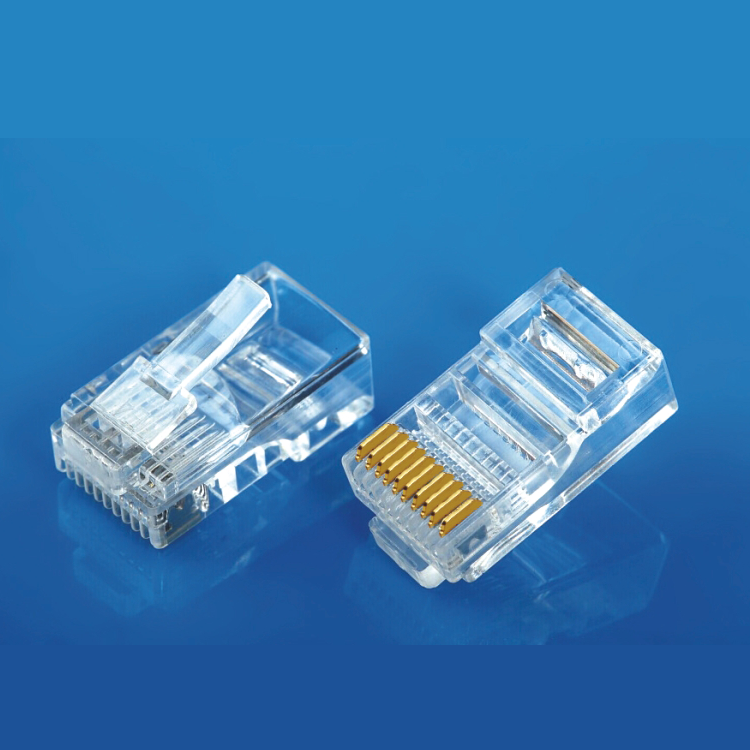 The high quality best price <strong>10</strong> pin rj45 connector plug 10p10c rj48 plug