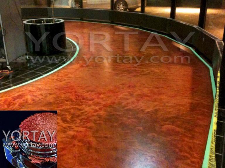 Metallic Mica Powder For 3d Epoxy Floor Coating Metallic
