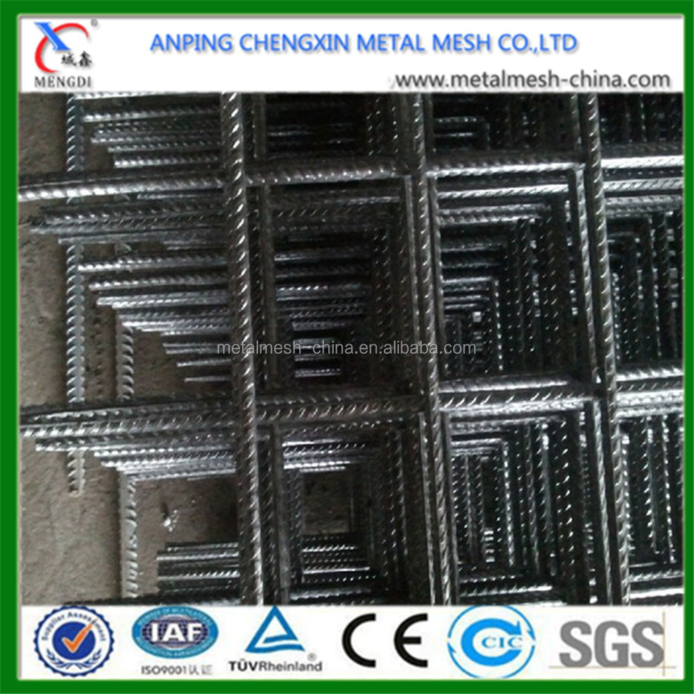 Ribbed Welded Reinforcing Concrete Steel Wire Mesh