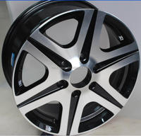 1670INCH new style aluninum alloy wheel rim for car PCD 6X130