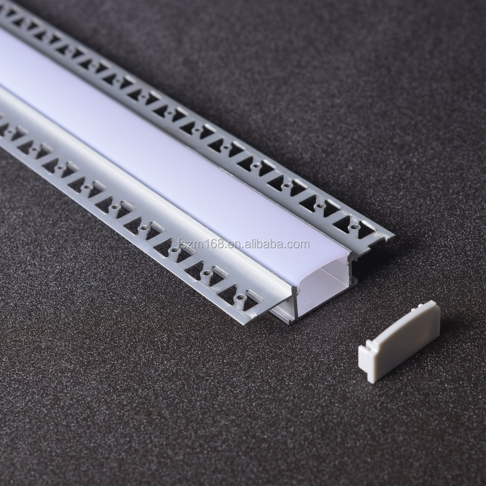ZM lighting Led Profile Aluminium For Led Strips, Aluminum Led Channel For Drywall,Aluminium Led Lighting Profil