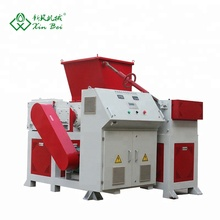 Scrap plastic/paper/plant shredding recycling machine