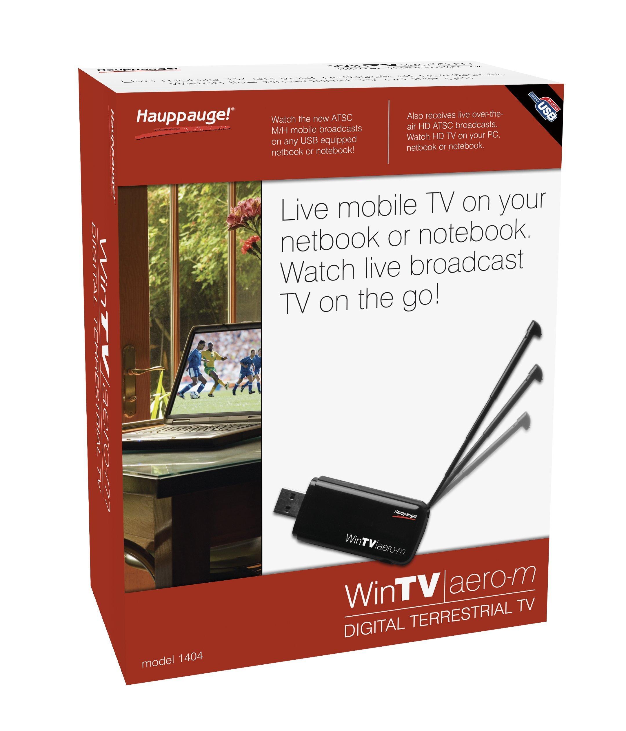 Hauppauge 1404 WinTV-Aero-M Mobile TV Tuner