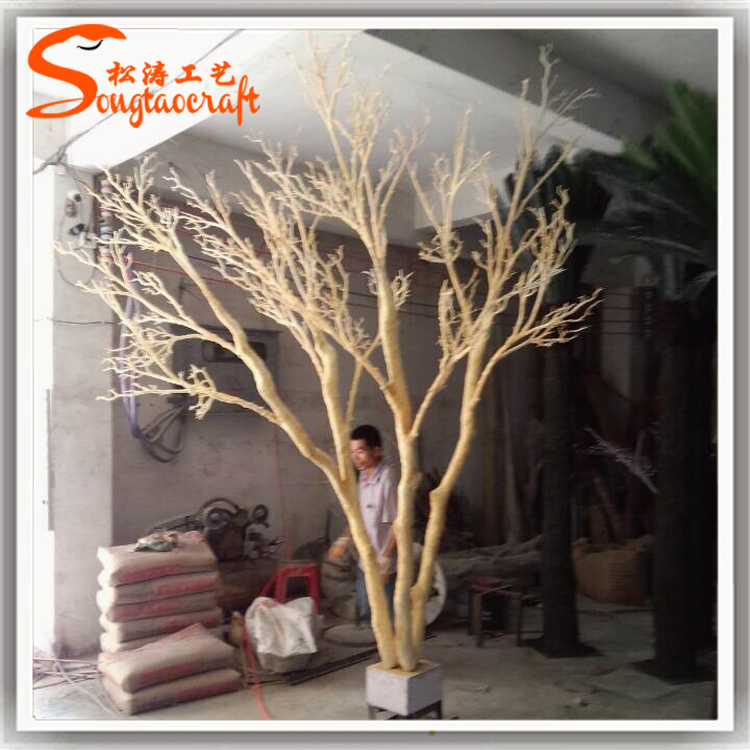 Customized size plastic dry tree branch artificial