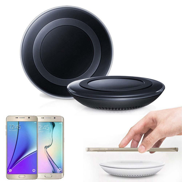 For iPhone X 8 8Plus Wireless Charger QI Wireless Charger Pad Original for Samsung Galaxy S6 S7 Edge Note 5 S8 S8 Plus