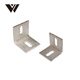 WELDON Alibaba New Products Bending Machine Parts With Speaker Angle Corner Bracket