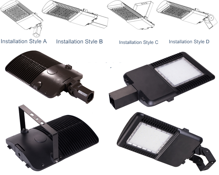 Ip66 150w Outdoor Lighting Outside Led Parking Lot Light