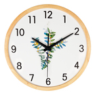 OEM silent wall clock Simple wooden clock Modern decorative digital clocks