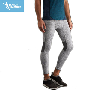 Custom Tights Pants Yoga Sport tights Mens Compression Leggings for Running Gym Fitness