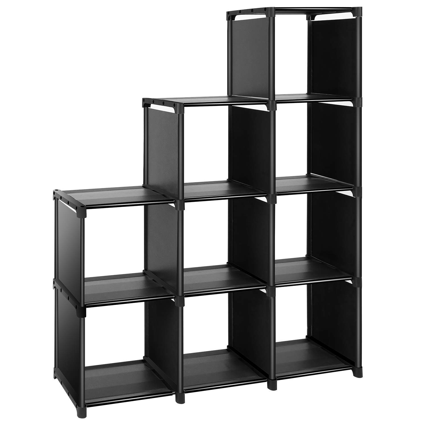 Get Quotations TomCare Cube Storage 9 Closet Organizer Shelves Bookcase Bookshelf Clothes Cabinets