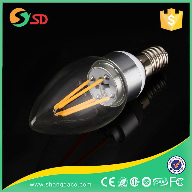 2W/4W C35 Filament Led B15 Candle Power Warmer Light Bulb