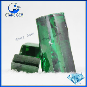 Best Price Top Quality Synthetic Emerald Material Rough