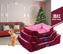 2017 new model oxford material pet beds for dog anti bite cat house supplier